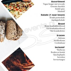 Barbecue pakket Vegetarisch