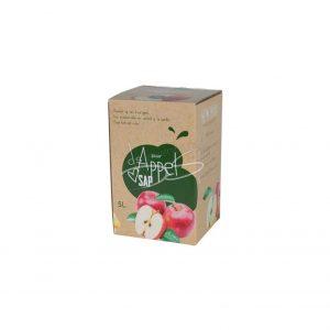 Bag in Box 5 liter Appelsap (Vereecken)