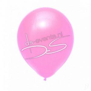 Ballon gevuld met helium en een lintsluiting (diverse kleuren)