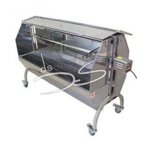 BBQ Grill met Motor spit lamsgrill, speenvarken, met kap max 60kg