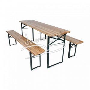 Biertafelset (1 tafel met 2 banken)