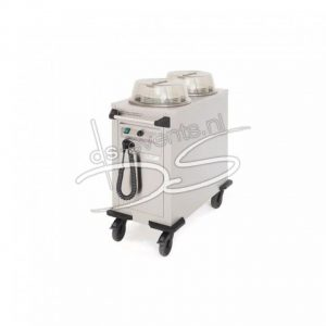 Bordenwarmer / buizenstapelaar rond Rieber RRV-H2 1500W