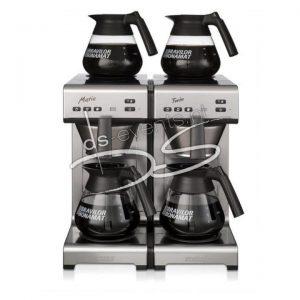 Bravilor Bonamat Matic Twin, 2 zetsystemen en 4 glazen kannen