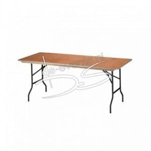 Buffet-, klaptafel rechthoekig 120cm