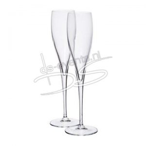 Champagneglas Perlage 17,5cl Vinoteque Luigi Bormioli 24 stuks
