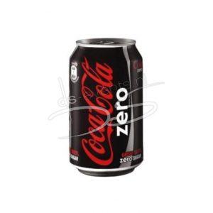 Coca-Cola Zero Blik 33cl (24 Stuks)