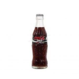 Coca-Cola zero Flesje 20cl (24 Stuks)