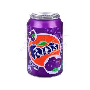Fanta Cassis Blik 33cl (24 Stuks)
