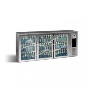 GAMKO Eco-line 3 deurs drankenkoeling/koelbuffet laag