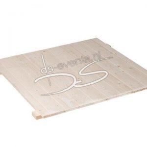 Houten vloerplaat (voor tent per m2) (100x200cm)