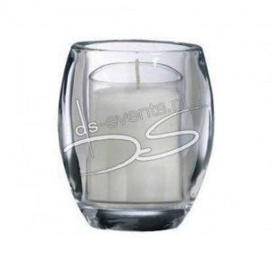 Kaarshouder vierkant glas