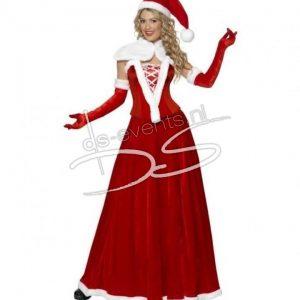 Kerstvrouw Kostuum Elegant