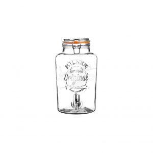 Kilner 5L Limonadetap/Drankendispenser (met aftapkraan)