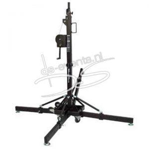 MobilTech AlpTek 45 statief, zwart met truss adapter (190 – 470cm max.150Kg)
