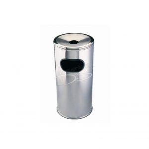 Rvs kleine prullenbak (budget) met asbak
