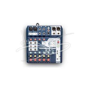 Soundcraft Notepad-8FX mengpaneel